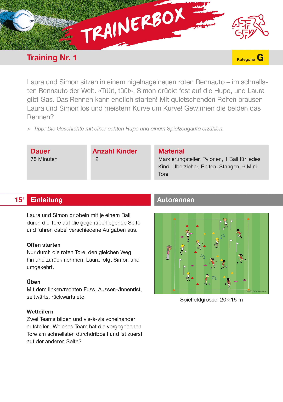 Schweizerischer Fussballverband Trainings
