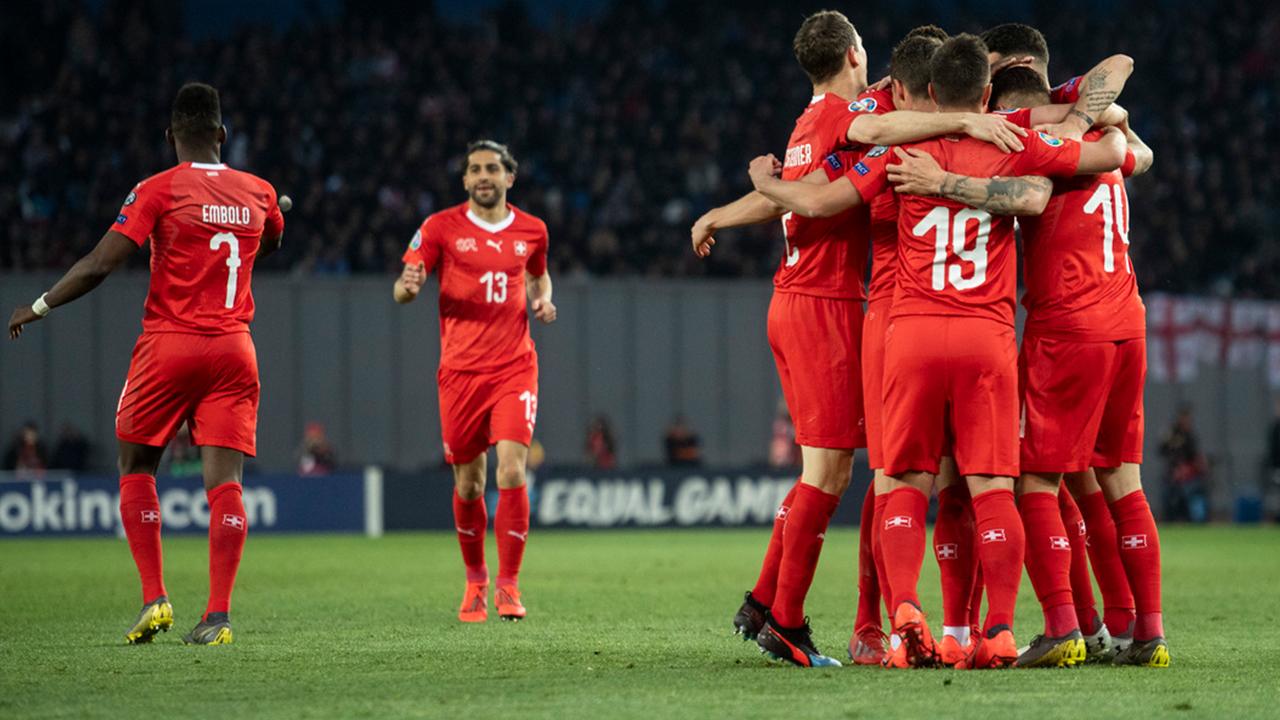 Schweizerischer Fussballverband Die Schweiz Besiegt Georgien 2 0