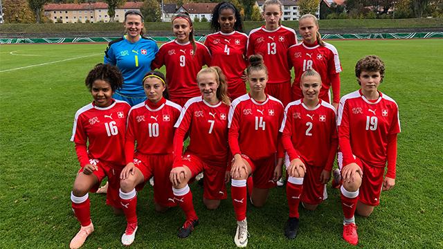 Schweizerischer Fussballverband U 16 Frauen