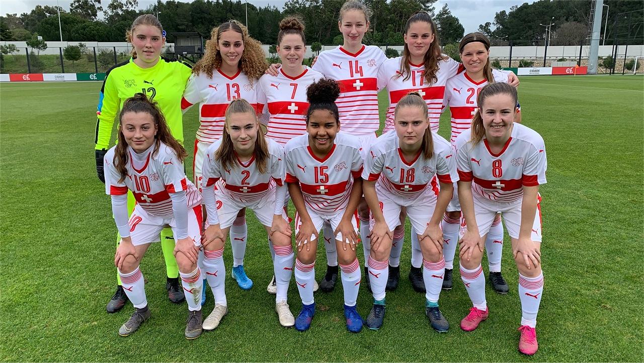 U-17 der Frauen spielt in Portugal unentschieden