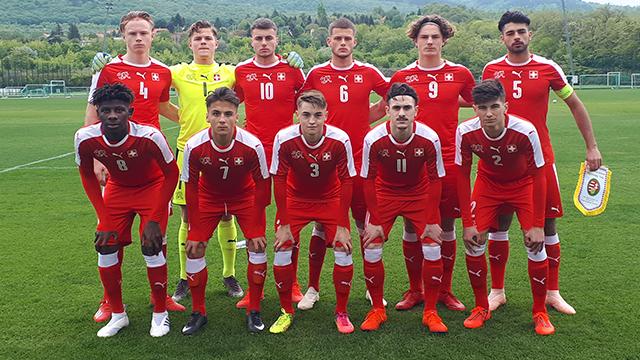 U-18: 2:0-Sieg im zweiten Spiel gegen Ungarn
