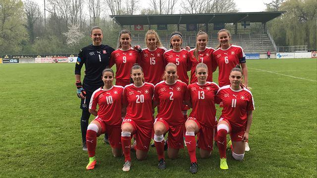 U-19-Frauen: Die Schweiz verpasst nach Remis die EM-Endrunde