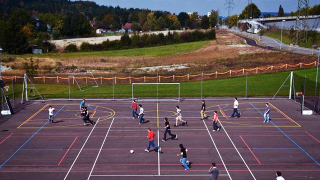 Populaire Association Suisse de Football - Aménagement de la cour d'école XN41
